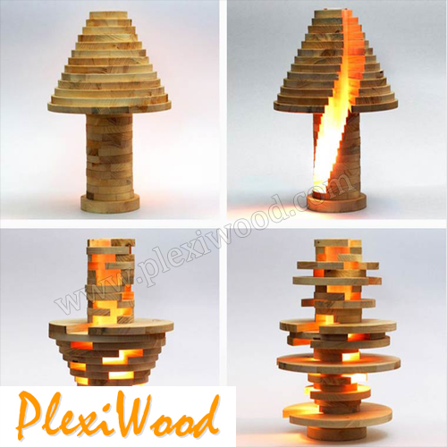 Eco-friendly lamp - PlexiWood.com